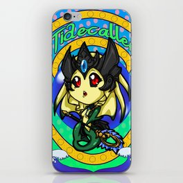 Chibi Waves iPhone Skin