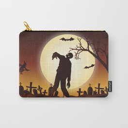 Halloween Scene Zombie Carry-All Pouch