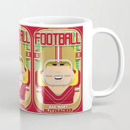 American Football Red and Gold - Hail-Mary Blitzsacker - Hazel version Coffee Mug
