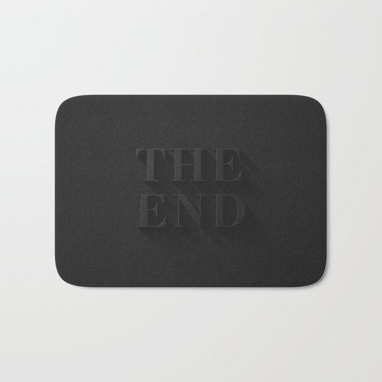 THE END Bath Mat