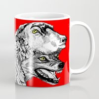 predator Mugs featuring Predator by Wellington Sun