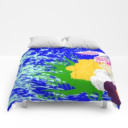 simurgh floral  Comforters