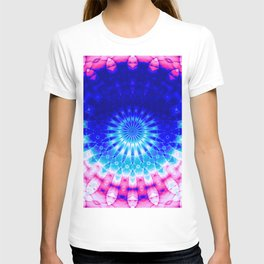 Concentric Field (blue-pink) T-shirt