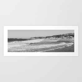 Pacific Beach Panorama Art Print