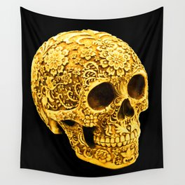 For the Love of Gold Wall Tapestry