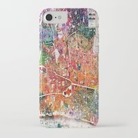london map iPhone & iPod Cases featuring London map  by mark ashkenazi