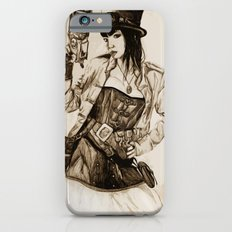 Steampunk Girl Slim Case iPhone 6s