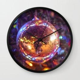 Little memory - Last christmas Wall Clock