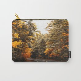on the road in vermont Carry-All Pouch