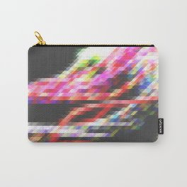 Rainbow Pixelation Carry-All Pouch
