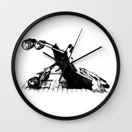 baby down Wall Clock