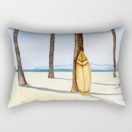 Surfing in Paradise Rectangular Pillow