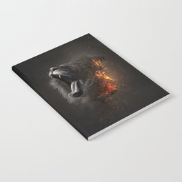 XTINCT x Lion Notebook