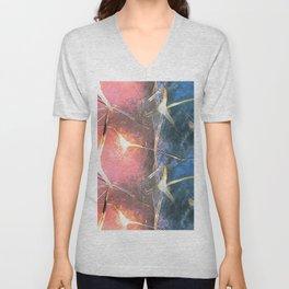 Crystal Lights Unisex V-Neck