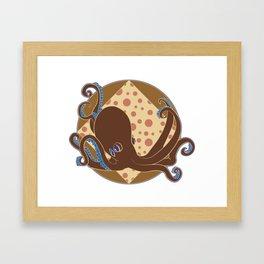 Octopus! Framed Art Print