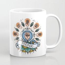 Monk - Vintage D&D Tattoo Coffee Mug