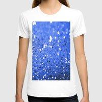 glitter T-shirts featuring Glitter Blue by Brian Raggatt