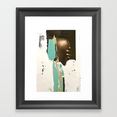 Perfectly Imperfect Framed Art Print