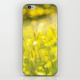 Summer Yellow iPhone Skin