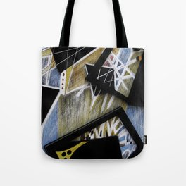 Edgy Moments to the Heart Tote Bag