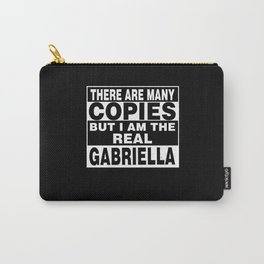 I Am Gabriella Funny Personal Personalized Gift Carry-All Pouch