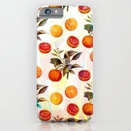 Orange blossom - Grapefruit blossom Grove Art Print Fruit Decor No. 2 iPhone Case