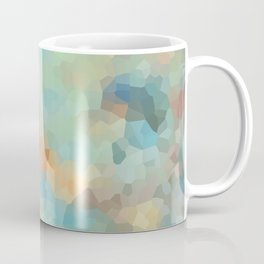 "Colored crystals . ""Sunbeams"" . Coffee Mug"