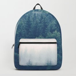 The Journey Is My Home - Misty Foggy forests Backpack
