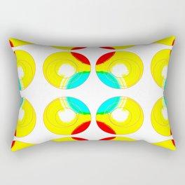 Circling on by.. Rectangular Pillow