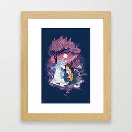 Last Unicorn + Dan Avidan Framed Art Print