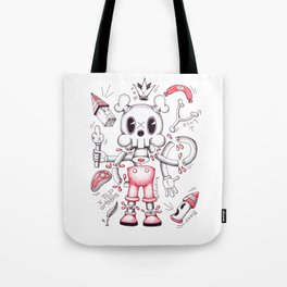 Skulltoons No.4 Tote Bag