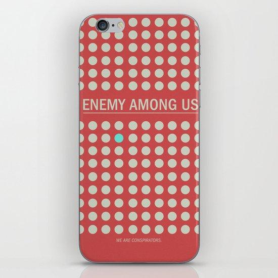 Enemy Among Us I iPhone Skin
