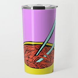 Spaghetti Soup Travel Mug