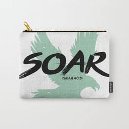 Soar :: Isaiah 40 Carry-All Pouch