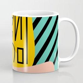Strange alphabet Coffee Mug