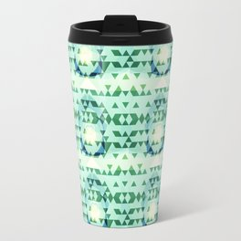 Green Tribomb Travel Mug