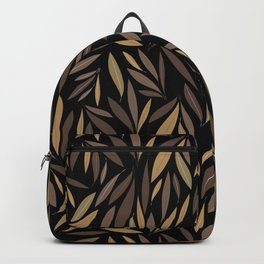 Willow leafs braun Backpack