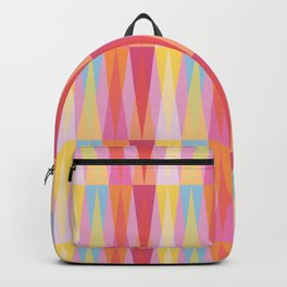 Party Argyle on Pink Backpack