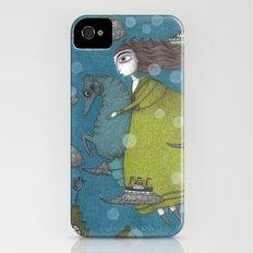 The Sea Voyage Slim Case iPhone (4, 4s)