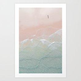 Ocean Walk II Art Print