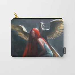 Red Falls Carry-All Pouch