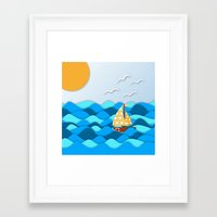 adventure Framed Art Prints featuring Adventure by General Design Studio