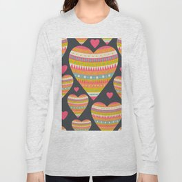 Floral Romantic Pattern 03 Long Sleeve T-shirt