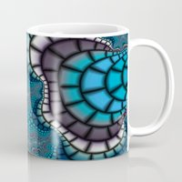 egyptian Mugs featuring Egyptian Goddess by Christy Leigh