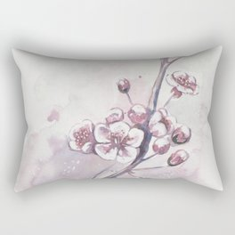 Jasmine flower branch Rectangular Pillow