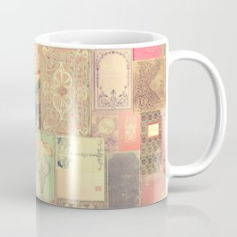 Dream with Books - Love of Reading Bookshelf Collage Coffee Mug