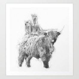 Fantastic 3 Art Print