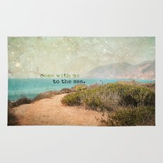 Come With Me to the Sea Rug