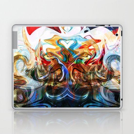 liquified space Laptop & iPad Skin