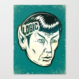 Logical Canvas Print